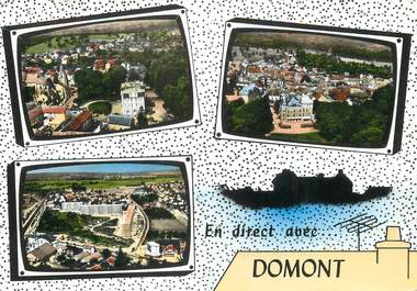 Cpsm france 95 domont 95 val d 39 oise autres for Domont val d oise