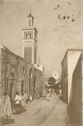 """CPA TUNISIE """"Tunis, rue des Teinturiers """""""