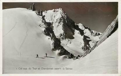 """CPSM FRANCE 74 """"Col du Tour et Chardonnet"""""""