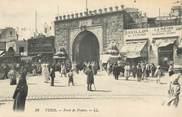 """Tunisie CPA TUNISIE """"Tunis, Porte de France"""""""