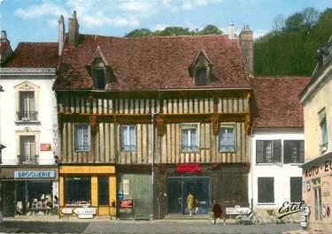 """/ CPSM FRANCE 27 """"Ivry La Bataille, maison où logea Henri IV après la Bataille du 14 mars 1590"""""""