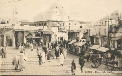"CPA TUNISIE ""Tunis,  place bab Souika"""