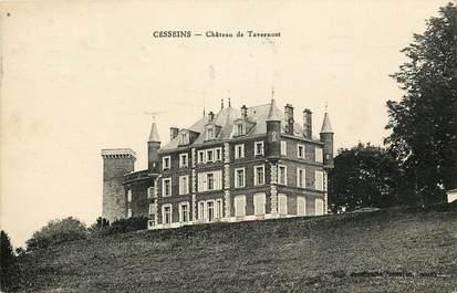 """CPA  """"Cesseins, Chateau de Tavernost"""""""