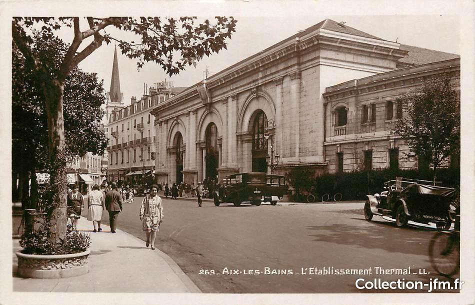 Aix-les-Bains - Etablissement Thermal & les Sources