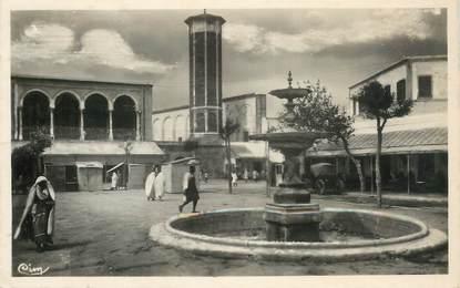 """CPSM TUNISIE """"Tunis, Place Halfaouine"""""""