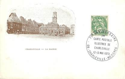 "/ CPA FRANCE 08 ""Charleville, la mairie"""