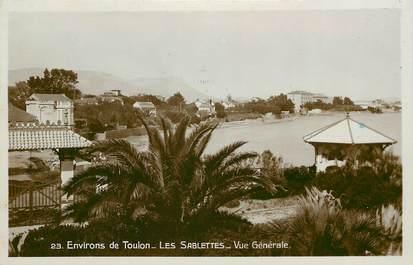 """CPSM FRANCE 83 """"Env. de Toulon, les Sablettes"""""""