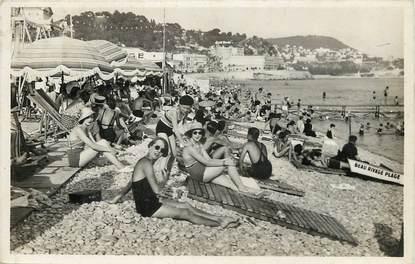 """CPSM FRANCE 06 """"Nice, la plage, l'Heure du Bain"""""""