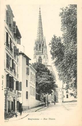 "CPA FRANCE 64 ""Bayonne, rue Thiers"""