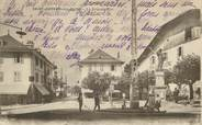 """74 Haute Savoie / CPA FRANCE 74 """"Saint Gervais les Bains, la Grande rue"""""""
