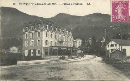 """/ CPA FRANCE 74 """"Saint Gervais les Bains, l'hôtel Terminus"""""""