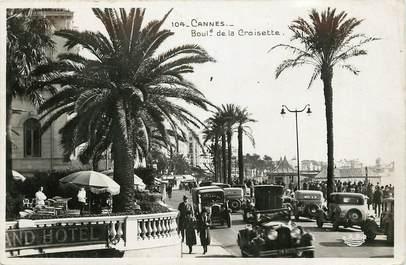 """CPSM  """"Cannes, Bld de la Croisette"""""""