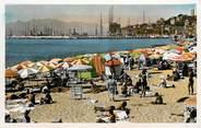 """06 Alpe Maritime CPSM """"Cannes, une plage de la Croisette"""""""