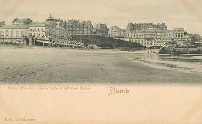 "CPA FRANCE 64 ""Biarritz,  casino municipal"""