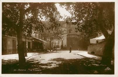 """CPSM FRANCE 20 """"Corse, Bastia, la citadelle"""""""