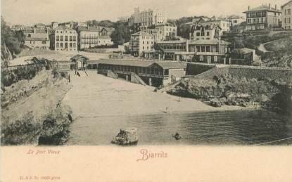 """CPA FRANCE 64 """"Biarritz  , le port Vieux"""""""
