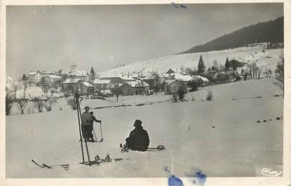 "/ CPSM FRANCE 01 ""Giron, station des sports d'hiver"""