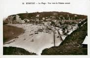 """76 Seine Maritime CPSM FRANCE 76 """"Etretat, la plage, vue sur les falaises amont"""""""