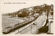 """76 Seine Maritime CPSM FRANCE 76 """"Le Havre, la falaise et la plage"""""""