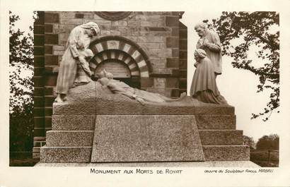 "CPSM FRANCE 63 ""Royat, monument aux morts"""