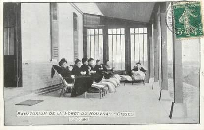 """/ CPA FRANCE 76 """"Oissel, sanatorium de la forêt du Rouvray"""""""
