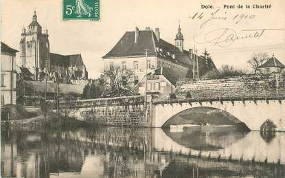 Cpa france 39 dole pont de la charit 39 jura dole for Plan dole 39