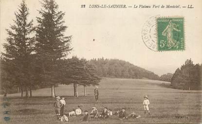 """CPA FRANCE 39 """"Lons le Saunier, le Plateau vert de Montciel """""""