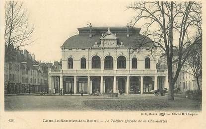 """CPA FRANCE 39 """"Lons le Saunier, le théâtre"""""""