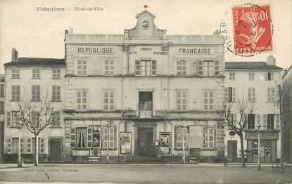 "CPA FRANCE 83 ""Vidauban, Hotel de ville  """