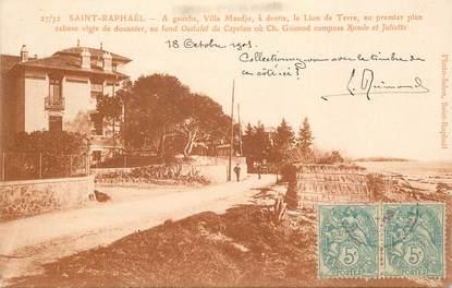 "CPA FRANCE 83 ""Saint Raphaël, villa Maedjo"""