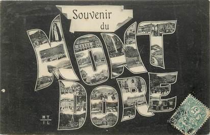 """CPA FRANCE 63 """"Le Mont Dore"""""""