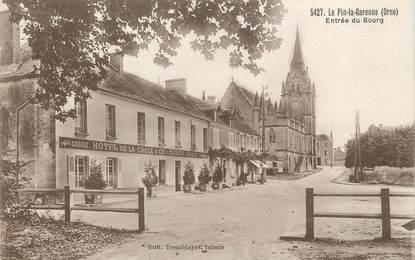 """/ CPA FRANCE 61 """"Le Pin la Garenne, entrée du bourg"""""""