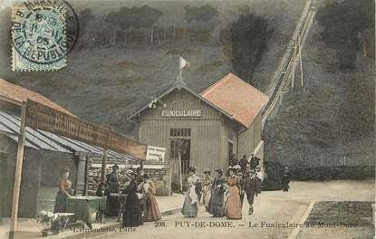 """CPA FRANCE 63 """"Le Mont Dore, funiculaire"""""""