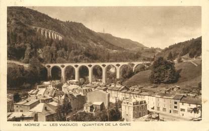 """/ CPA FRANCE 39 """"Morez, les viaducs, quartier de la gare"""""""