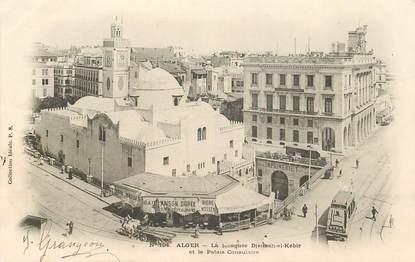 """CPA ALGERIE """"Alger,  la Mosquée et le Palais consulaire"""""""