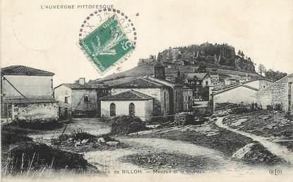 """/ CPA FRANCE 63 """"L'auvergne pittoresque, environs de Billom, Mauzun et le château"""""""