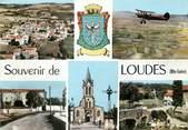 """43 Haute Loire CPSM FRANCE 43 """"Loudes"""" / Vues de la commune"""