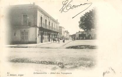 "CPA ALGERIE ""Orléansville, Hotel des Voyageurs"""