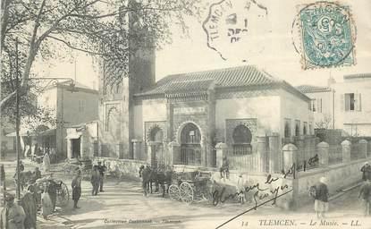 """CPA ALGERIE """"Tlemcen, le musée"""""""