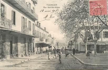 "CPA ALGERIE ""Tlemcen, rue Sdi Bel Abbès"""