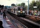 "78 Yveline CPSM FRANCE 78 ""Louveciennes, la gare"""