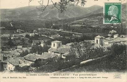 """/ CPA FRANCE 26 """"Dieulefit, vue panoramique"""""""