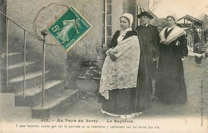 """CPA FRANCE 36 """"Au Pays du Berry, le baptême"""""""
