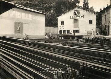 """CPSM FRANCE 07 """"Le Teil, Sibille & Compagnie, Métallurgie"""""""