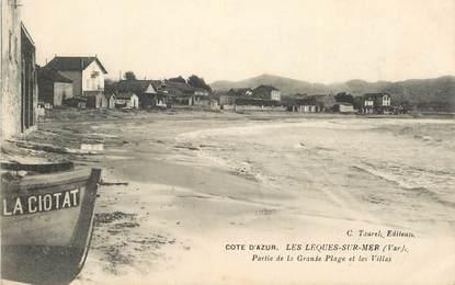 """CPA FRANCE 83 """"Les Lecques sur Mer"""""""